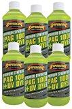 TSI Supercool P100-8D-6CP 100 PAG Viscosity Oil Plus U/V Dye, 8 oz, 6 Pack