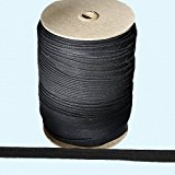 "Piping Cord ~ 3/8"" Piping Cord -1/8"" Filler Cord BLACK (10 Yards / Pack)"