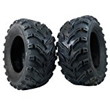 One Pair of MassFx P377 ATV/UTV Rear Tires 25x10-12 Rear Set of 2 25x10x12