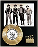 BONANZA LIMITED EDITION SIGNATURE AND LASER ETCHED THEME SONG LYRICS DISPLAY