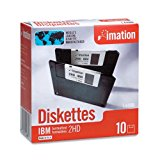 """Imation - 3-1/2"""" Diskettes, Formatted, PC Format, 1.44MB, DS-HD"""