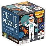 Petit Collage 24 Pieces Puzzle, Astronaut