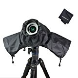 Venterior Waterproof Rain Cover Camera Protector for Canon Nikon Pentax and other DSLR Cameras - Protect from Rain Snow Dust Sand