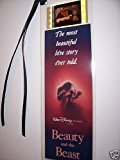 Beauty & the Beast movie film cell bookmark memorabilia collectible disney an...
