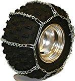Quality Chain 5.5mm Link V-Bar ATV UTV Snow Traction Tire Chains (ATV-D)