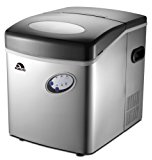 Igloo ICE115-SS-SM Extra Large Ice Maker, Stainless Steel