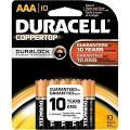 Duracell CopperTop MN2400 Battery - AAA - Alkaline