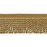 10 Yard Value Pack of GOLD 2.5 Inch Bullion Fringe Trim, Style# EF25 Color: C4 (30 Ft / 9.5Meters)