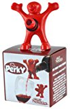 Sir Perky Novelty Wine Pourer, Red