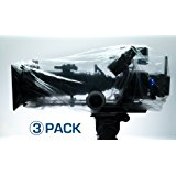 3 PACK CAP IT! COVERS (MEDIUM) CAMERA & ELECTRONICS PROTECTION PERFECT FOR ARRI, RED, SONY, PANASONIC, PANAVISION, BLACK MAGIC, STEADICAM, GIMBLE RIGS AND MORE