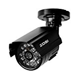 ZOSI Bullet Fake Securtiy Camera with Red Light,Dummy Surveillance Camera Outdoor Indoor Use,Wireless Simulate Cameras for Home Security