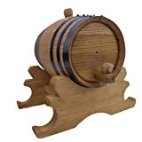 1 Liter American Oak Aging Barrel | Age your own Tequila, Whiskey, Rum, Bourbon, Wine - 1 Liter or .26 Gallon Barrel