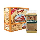 Bob's Red Mill Gluten Free Large Flake Nutritional Yeast, 8-ounce (Pack of 4)