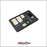 SIM Card Adapter SIM Card Holder With MicroSD Card Reader/Storage Nano SIM Storage Nano to Micro/Standard Adapter Micro To Standard Adapter Iphone Eject Pin
