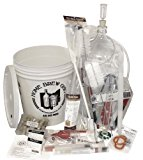 Winemakers Depot WEK50G Ultimate Wine Making Equipment Kit, 6 gal Glass Carboy