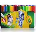 Crayola Super Tips Washable Markers with 12 Silly Scents Markers ...