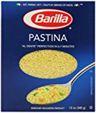 Barilla Pasta, Pastina, 12 Ounce (Pack of 16)