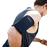 Phone Armband Sleeve: Best Running Sports Arm Band Strap Holder Pouch Case for Exercise Workout Fits iPhone 5S SE 6 6S 7 8 Plus iPod Android Samsung Galaxy S5 S6 S7 S8 Note 4 5 Edge LG HTC Pixel LARGE