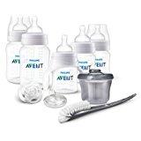Philips AVENT Anti-Colic Bottle Newborn Starter Set, Clear