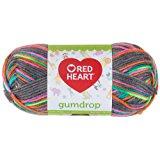 Red Heart Gumdrop Yarn, Rock Candy, Worsted (4) 204 yards