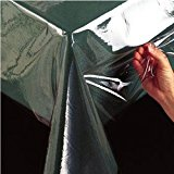 "Bed Bath Outlet Super Clear Heavy Duty PVC Tablecloth Cover Protector - 4 Sizes (54"" X 72"")"