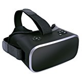 VR Headset,Black Friday 3D VR Glasses Virtual Reality Google Carboard with Youtube Games Android System 5.5 inch 1080P with 360 degree Panorama Theater WiFi Bluetooth and TF Card