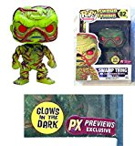 POP Swamp Thing Variant Vinyl Figure PX PREVIEWS EXCLUSIVE Glow In The Dark - Funko Toys THIS IS FOR 1 FIGURE ONLY - UNCIRCULATED Factory Sealed - Graded 9.8