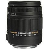 Sigma 18-250mm f3.5-6.3 DC MACRO OS HSM for Canon Digital SLR Cameras (Certified Refurbished)