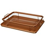 Gotham Steel Nonstick Copper Crisper Tray - AIR FRY IN YOUR OVEN - As Seen on TV by Daniel Green