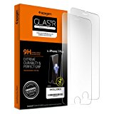 Spigen iPhone 7 Plus Screen Protector Tempered Glass 0.33 mm [ Case Friendly ] 2 Pack for Apple iPhone 7 Plus