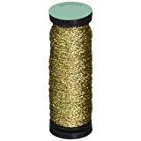 Kreinik No.12 Metallic 10m Tapestry Craft Braid, 11-Yard, Gold