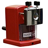 SharpTank - Portable Pencil Sharpener (Metallic Rose) | Compact & Quiet Classroom Sharpener That Gets Straight to the Point!