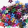Darice Star Sequins 5mm 400 per Package-Multi 1003811