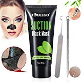 Black Mask Purifying Peel Off Mask, Charcoal Peel Off Mask, Blackhead Remover Mask, ToullGo Original Activated Charcoal Mask adsorption blackheads Nose Acne Treatment Oil Control, 60g