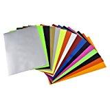 Newcomdigi Heat Transfer Vinyl Sheets Heat Transfer Vinyl 16pcs for T Shirts, Hats, Clothing for Heat Press Machine