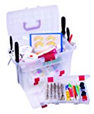 ArtBin Baker's Cupboard Easy View Cake Decorating Storage Cabinet-Clear Container, 6935AB