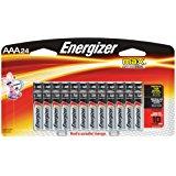 Energizer AAA Batteries, Triple A Battery Max Alkaline (24 Count) E92BP-24