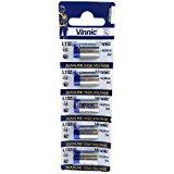 Vinnic A28PX 5 pcs 6V Replacement Alkaline Batteries (L1325, 4LR44)