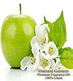 GREEN APPLE Fragrance Oil - 100% Pure Premium Grade - BULK Fragrance Oil By Oakland Gardens (240 mL - 8.0 fl oz Bottle)