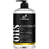 ArtNaturals Premium Fractionated Coconut Oil - 16 oz - 100% Natural & Pure – Therapeutic Grade Carrier and Massage Oil – for Hair and Skin or Diluting Aromatherapy Essential Oils
