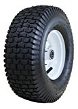 "Marathon 13x5.00-6"" Pneumatic (Air Filled) Tire on Wheel, 3"" Hub, 3/4"" Bearings"