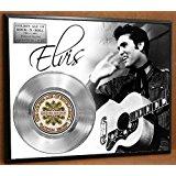 Elvis Presley LTD Edition Platinum Record Poster Art Music Memorabilia Display