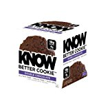 KNOW Foods Gluten Free, Low Carb, Protein Cookies, Double Chocolate Chip, 4g Net Carbs - 4 Count