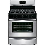 Kenmore 4.2 cu. ft. Standard Clean Gas Range with Broil and Serve Drawer in Stainless Steel, includes delivery and hookup (Available in select cities only)