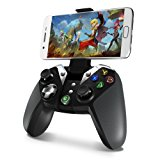 MasTechBox GameSir G4 Wireless Bluetooth Game Controller, Controller Gamepad for Android Phone / Tablet / TV Box / Samsung Gear VR / Oculus, Wired Gaming Controllers for PC