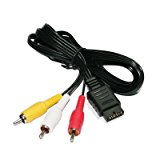 Mosuch Playstation/PS2/PSX AV to RCA Cable