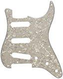 Fender Modern Pickguard, Stratocaster, 11-Hole - White Moto
