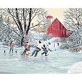 "Dimensions Paint By Number Craft Kit Painting, 20"" x 16"", Farm ..."